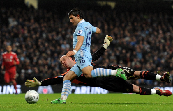 Manchester City v Liverpool - Carling Cup Semi Final First Leg