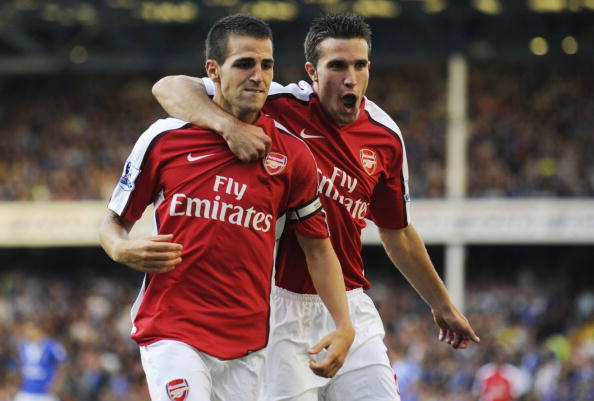 Fabregas and RVP have been sold in consecutive seasons