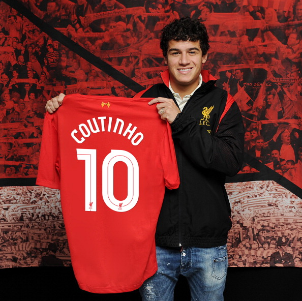 Philippe Coutinho Signs For Liverpool FC